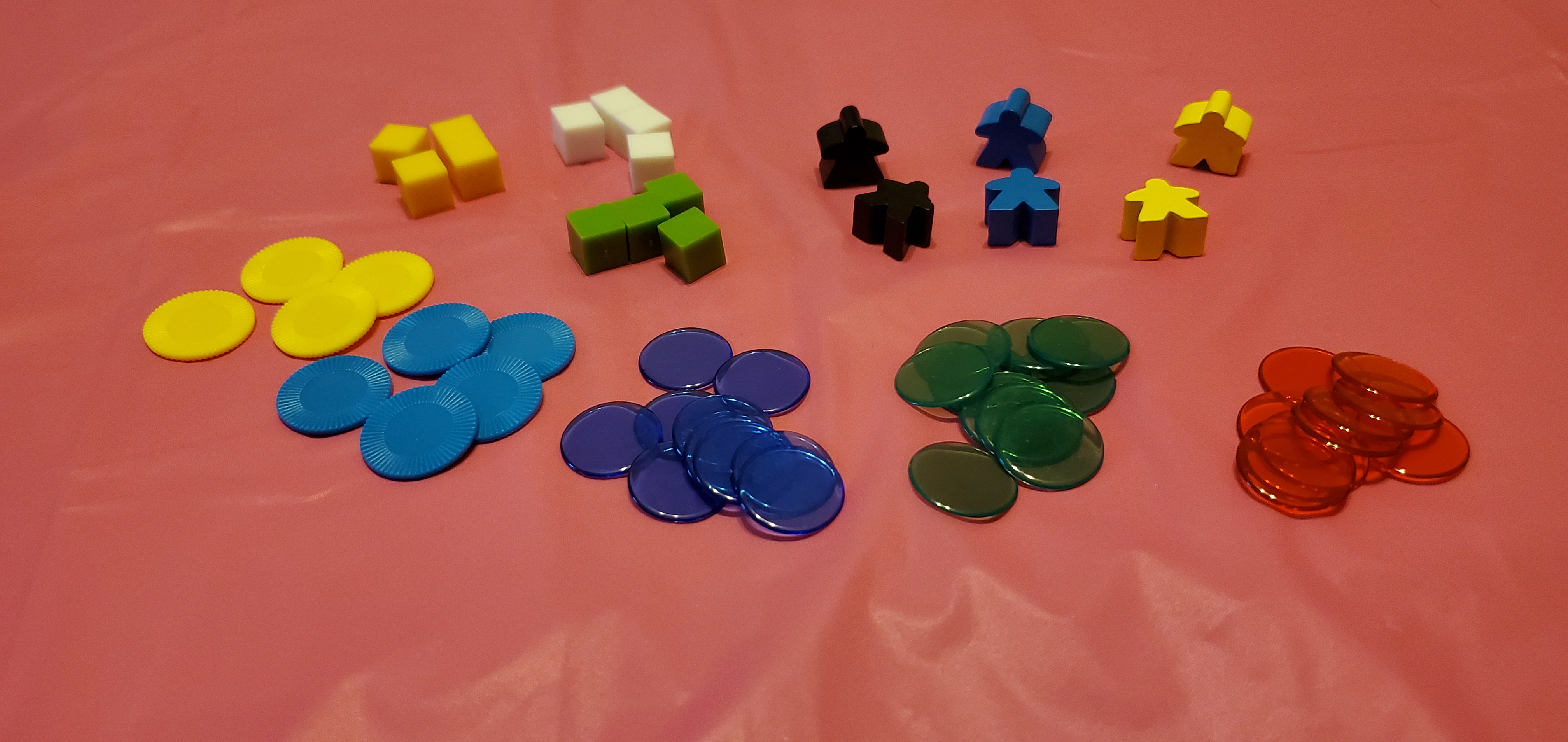 Selection of various gaming bits for prototyping.