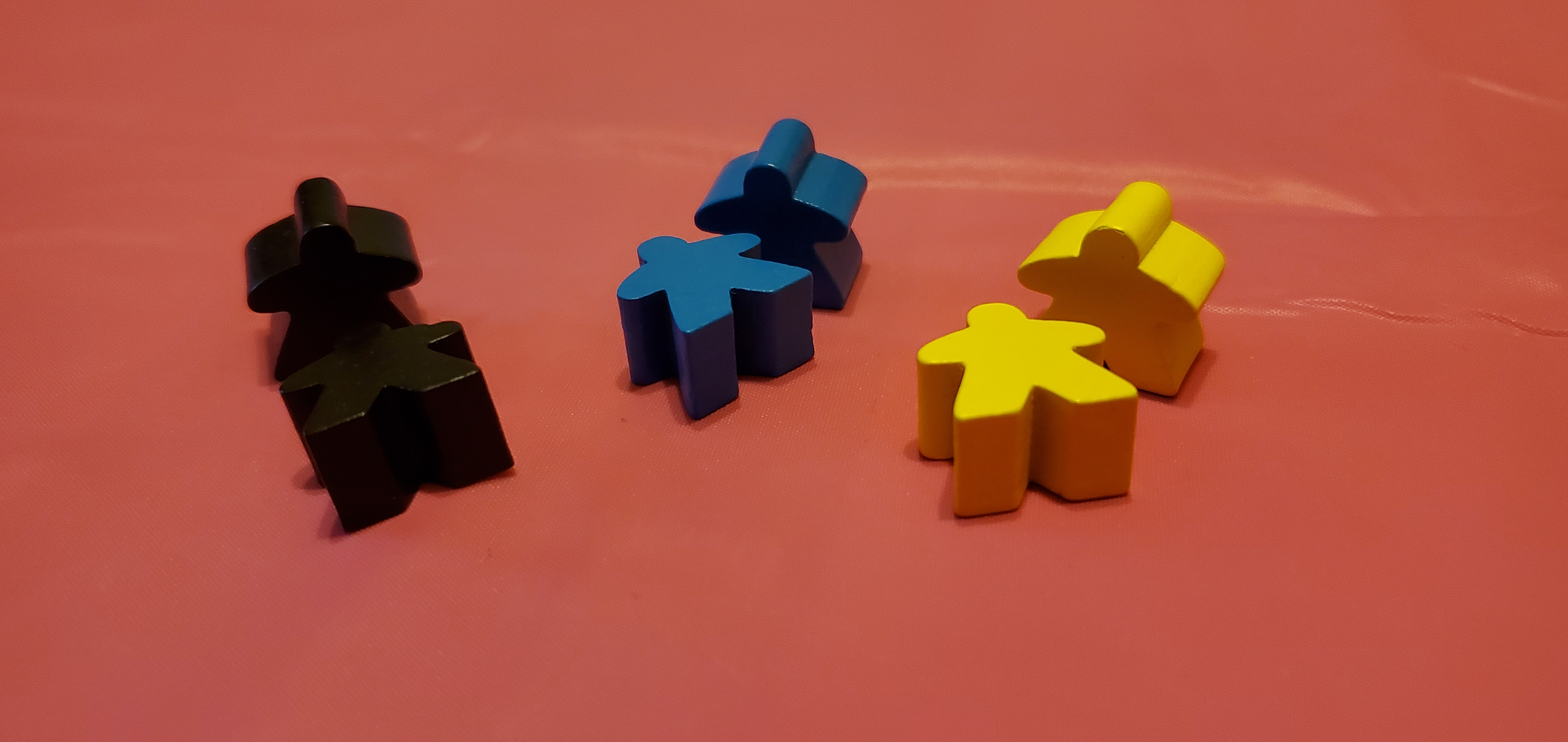 Selection of meeples.